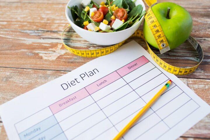 Diätplan ist wichtig
